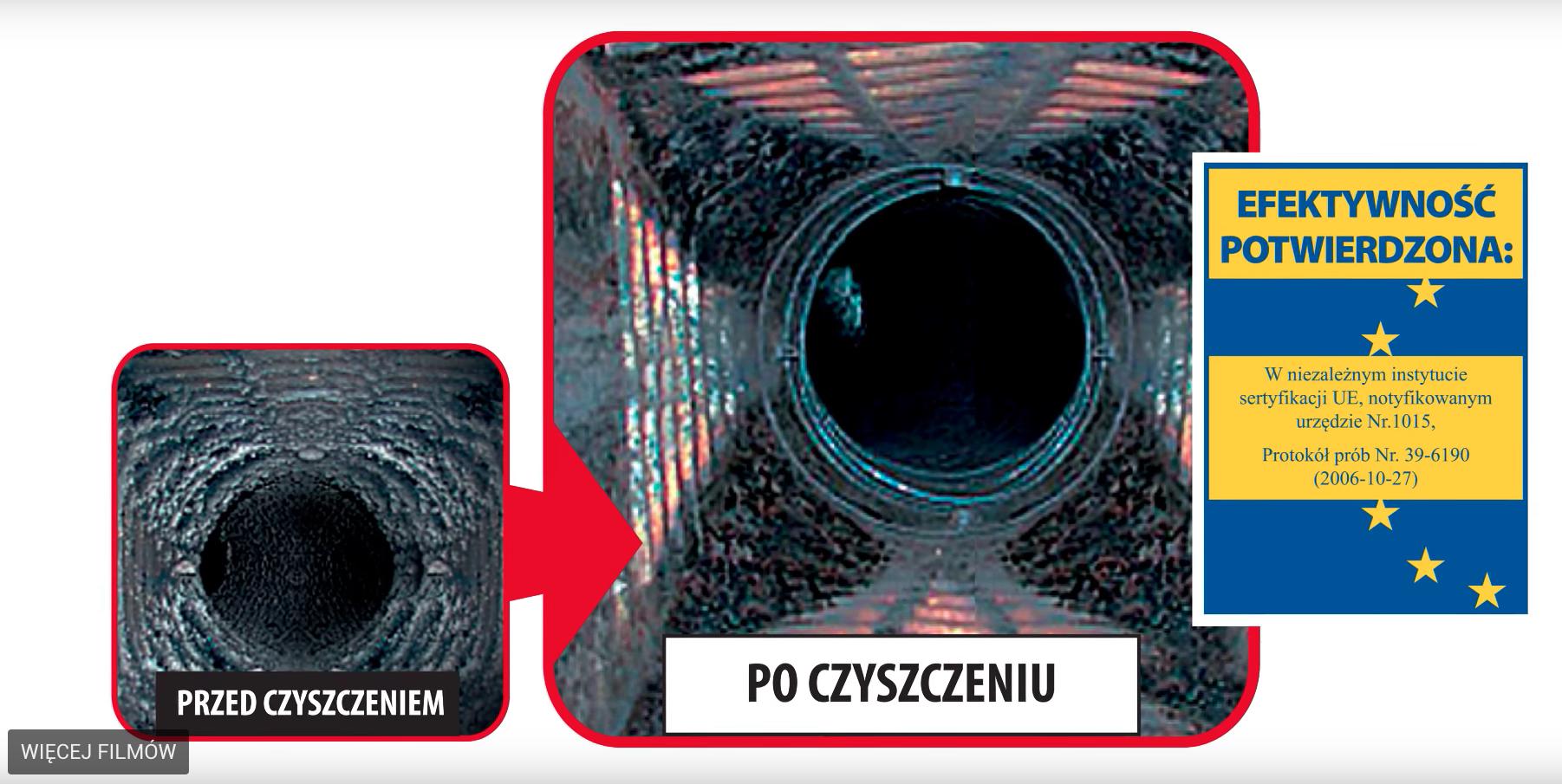 Masywnie Proszek do Czyszczenia Kominów Hansa - 1 kg - HA/ESDS-1 Hansa CM67